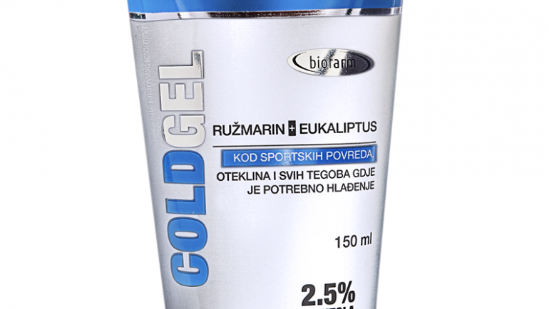 ColdGel hladilni masažni gel 75 ml