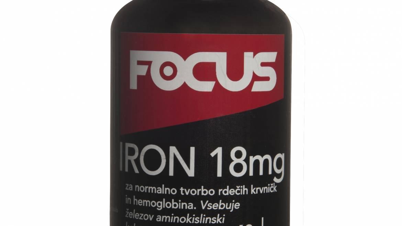 FOCUS IRON 18 mg 60 kaps.