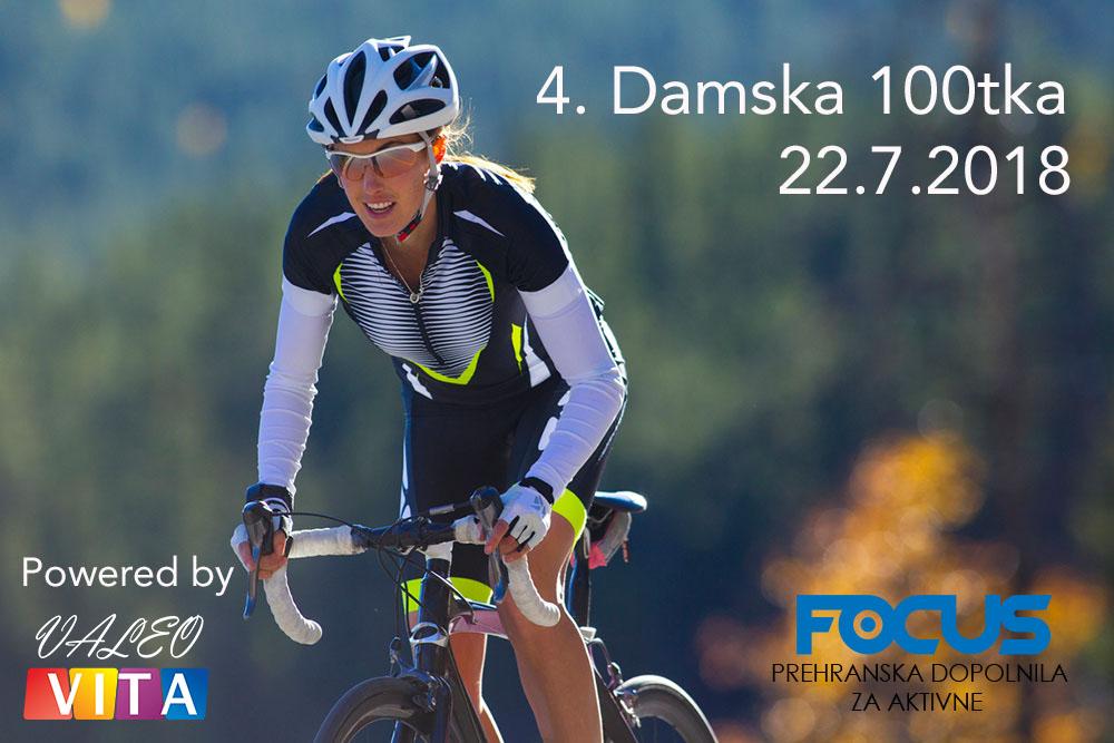 4. DAMSKA 100TKA 22.7.2018